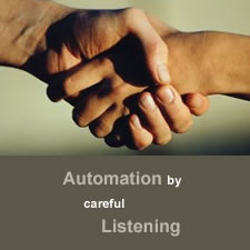 automatiseren door aandachtig te luisteren